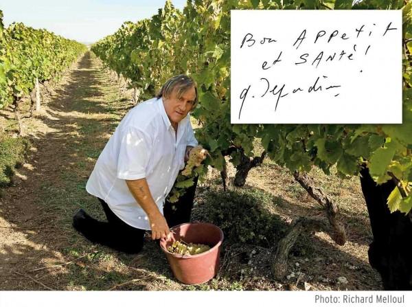 Sommelier Capucin Gérard Depardieu