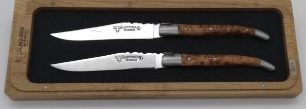 Steakmesser Set Wacholder Doppelplatine