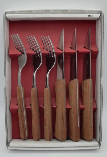 Steakmesser Set 6tlg. Kirsche
